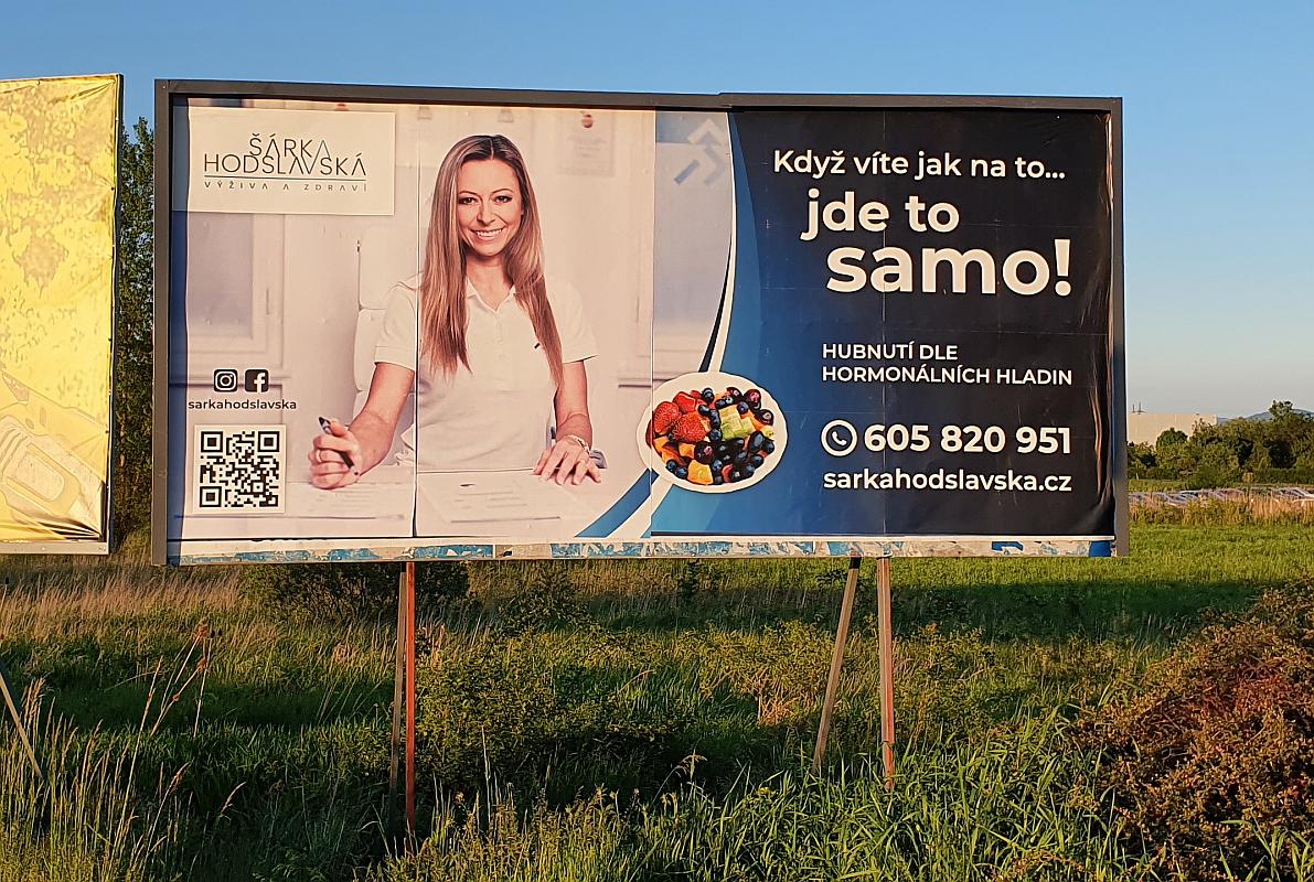 Billboard Šárka Hodslavská
